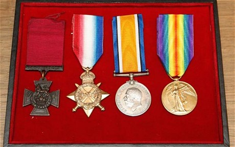 bell donald medals