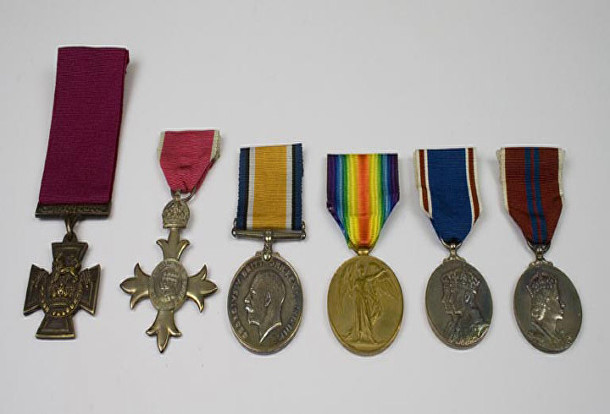 knight alfred medals