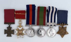 shaw h medals