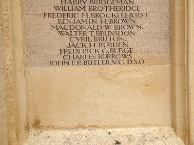 butler memorial cirencester