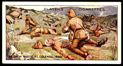BABTIE CIGARETTE CARD