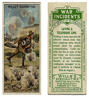 bassett cigarette card