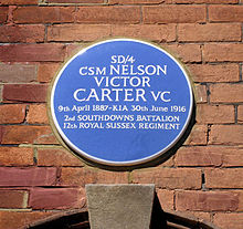 carter n blue plaque