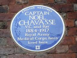 chavasse blue plaque