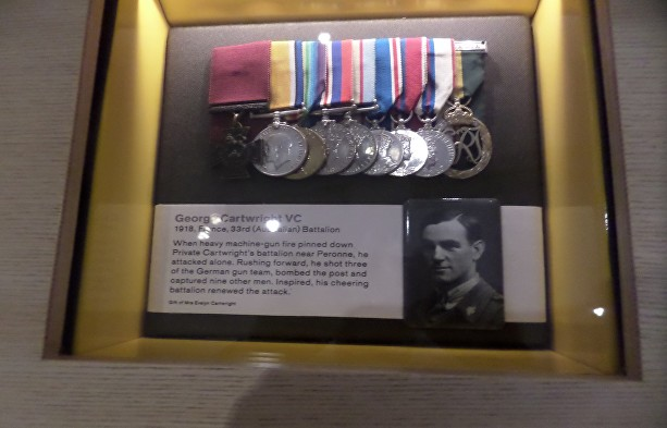 cartwright medals in iwm