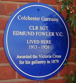 fowler blue plaque