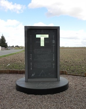 tunnellers memorial givenchy