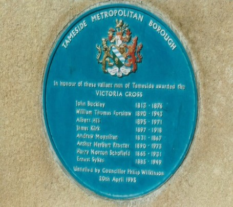 manchester regiment museum plaque