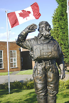 raf middleton st george statue