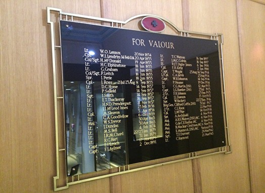 r.e. roll of honour board 2