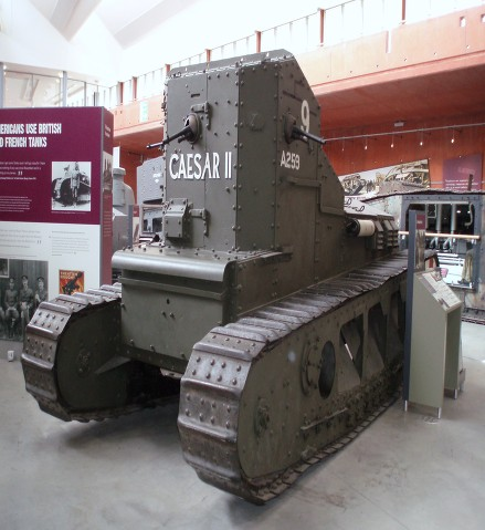 sewell tank caesar ii at the tank museum