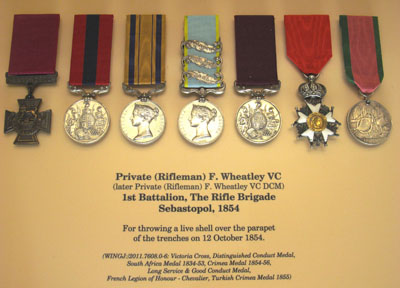 wheatley medals