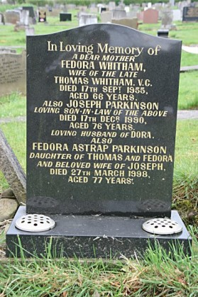whitham wife's grave