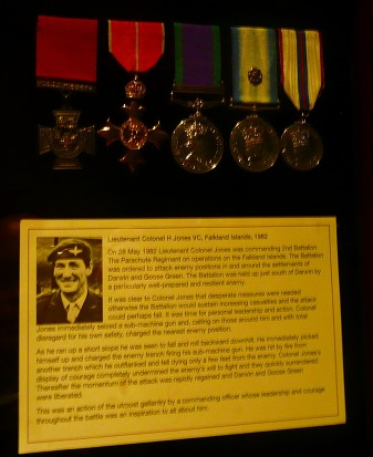 Falklands VC Winner Colonel 'H' Jones - Duxford