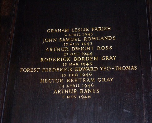 st clements danes aldwych raf gc memorial