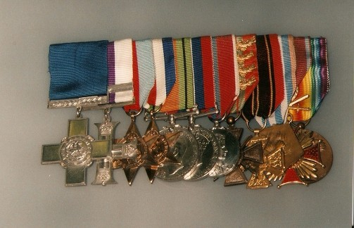 yeo-thomas medals old iwm