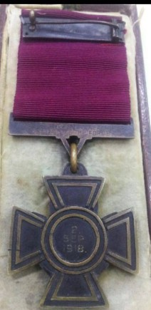 weathers medal reverse