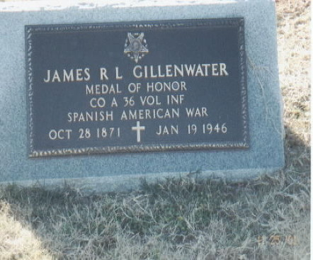 GILLENWATER J R GRAVE
