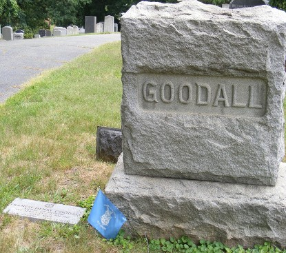 GOODALL F H GRAVE