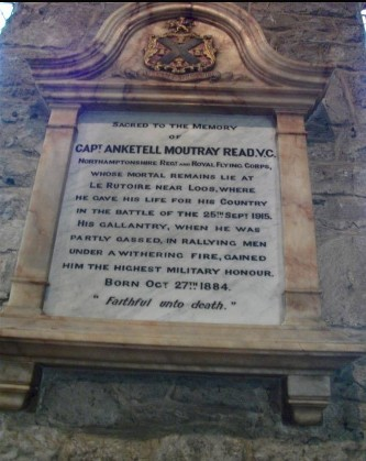 bampton church read vc