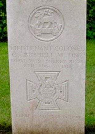 bushell grave close up