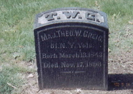 greig t w grave