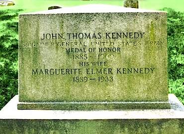 kennedy j t grave