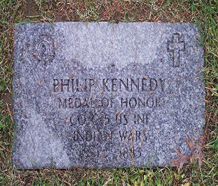 KENNEDY P GRAVE