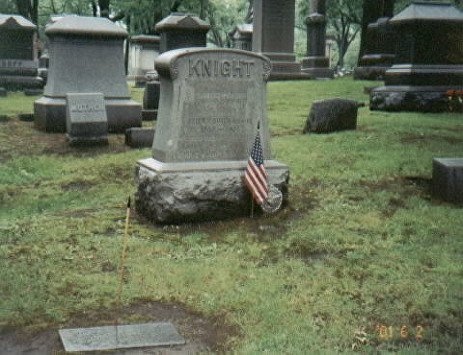 knight c h grave