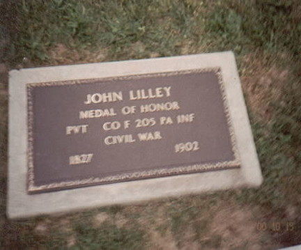 lilley j grave