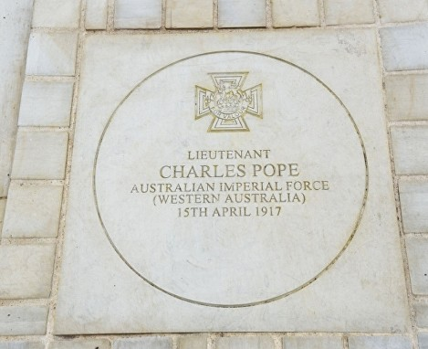 pope vc stone sidney square whitechapel