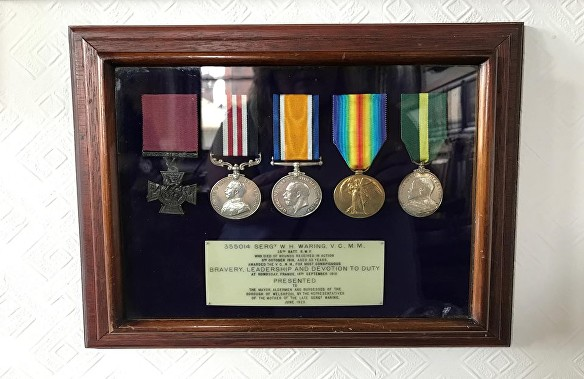 waring medals