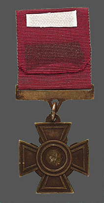 brown h medal reverse