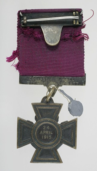 hall f w medal reverse