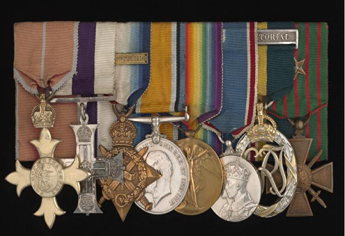 chavasse christopher medals