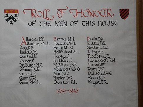 roll of honour sedbergh k campbell bd