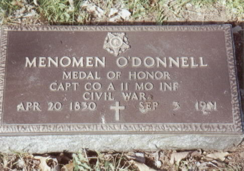 o'donnell m grave