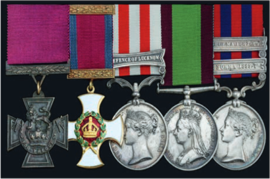 cubitt medal group