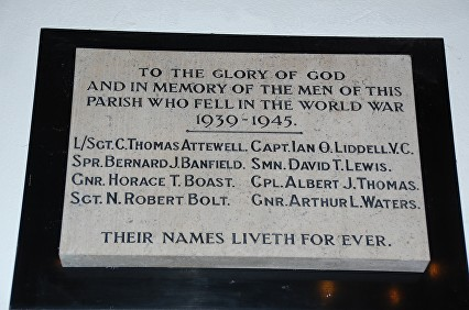 liddell i memorial church ts