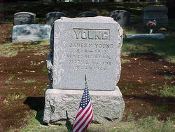 young j m grave