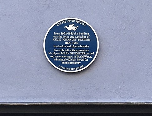 MARY BLUE PLAQUE