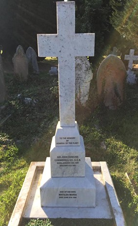 commerell vc grave sd